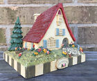 MARY ENGELBREIT HOME SWEET HOME BANK COTTAGE PAPER WEIGHT DECOR RARE HTF
