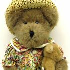 MOMMA MACBEARSLEY Baby JESSICA 919840CA Boyds Bear Stuffed Animal Teddy Hat Dres