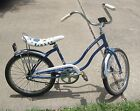 Rare Vintage Girls BLUE Schwinn FAIR LADY Stingray Bicycle Bike Original Paint
