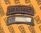 US ARMY AIR ASSAULT OD Green Black TAB patch m e
