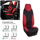 High Back Bucket Car Front Seat Cover Durable Polyester Fabric Comfort 15065CM