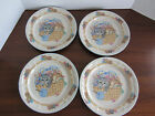 RARE VINTAGE - 4 - Purrfect Friends Dinner Plates 10.5
