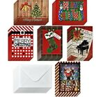 48 Christmas Cards Boxed New Marry Christmas Cards Lot Holiday Greeting Cards