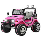 12V Kids Ride on Cars Electric Battery Power Wheel Remote Control USB Pink