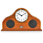 Pyle (PVNTLCL41BT) 2-in-1 Retro Style Clock & Bluetooth with Stereo Speakers