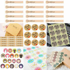 45 120pcs Cute Envelope Seals Paper Stickers Thank YouWedding Favor Gift Label