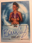 2017 Topps WWE UNDISPUTED Blue Bayley Auto AUTOGRAPH 199