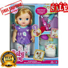Baby Alive My Baby All Gone Doll Blonde Wets Diaper Bottle Toothbrush Girl Gift