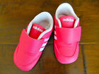 NWT Boutique Adidas Neo Girls Sz 4K Super Pink Athletic Sporty Shoes AWESOME