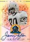 JAMES LOFTON SIGNED 2013 PANINI SPECTRA HALL OF FAME CARD FOOTBALL HOF AUTO #43