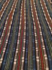Robert Graham Blue Gray Red Stripe Flip Cuff Shirt Size Large L