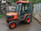 kubota 2410 compact tractor with cab JOHN DEERE ISEKI RIDE ON LAWN MOWER