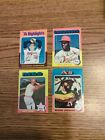 1975 Topps Mini lot of 4 Rose and Ryan