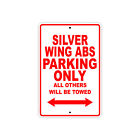 HONDA SILVER WING ABS Parking Only Towed Motorcycle Bike Chopper Aluminum Sign