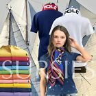 POLO RALPH LAUREN POLO SHIRT Womens Classic  Skinny Fit Purple Red  Cove Blue