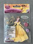 disney beauty and the beast Belle 3D Scrapbook Sticker Embellishments