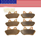 F+R Sintered Brake Pads 2000 2007 2001 2002 2003 2004 05 Harley FLHRCi Road King