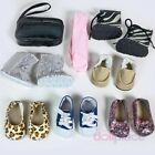 18 inch Doll Shoes LOT Fits American Girl 8 pc Set New 18 Boots Sneakers Purse