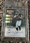 2016 PANINI CONTENDERS CARSON WENTZ ROOKIE AUTO (PLAYOFF TICKET) 7 25 SSP RC BGS