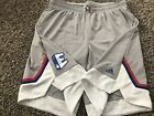 NEW ADIDAS NBA AUTHENTIC GAME ISSUED 2017 EAST ALL STAR GAME SHORTS Sz5XL+4