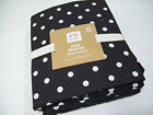 Pottery Barn Teen Multi Colors Black Dottie Dot Cotton XL Twin Sheet Set New