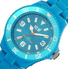 New $125 Ice-Watch Womens Classic Fluo Blue Watch CF.BE.B.P10 NO BOX
