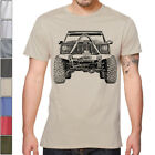 Off Road Fan Cherokee XJ 2nd gen T Shirt Rally Dakar Multi Colors S 3XL Jeep
