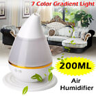 7 Color Aromatherapy Electric Oil Burner Aroma Diffuser Humidifier Air Purifier