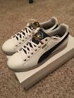 Puma Clyde Navy Blue and White Colorways sz 13 Brand New