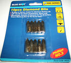 JOBLOT 5 PACKS OF 10 DIAMOND TITANIUM SCREWDRIVER BITS PHILLIPS NO 3 PH3 DRIVER