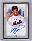 Mike Piazza NY Mets HOF 2017 Topps Transcendent Gold Framed Autograph 16 25 Auto