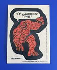 Topps 1974 1975 Marvel Comic Book Heroes Sticker • THE THING-1
