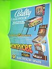 Bally Lost World Xenophobe Original NOS Pinball Machine Poster Flyer Electrocoin