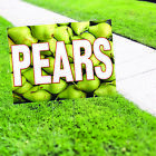 Pears Fruit Shop Natural Product Business Advertising Coroplast Yard Sign