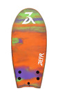 ZEFR Fusion Boards SUNSET 48 Removable twin fins and Leash Included