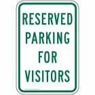 ComplianceSigns Aluminum Parking Control Sign, Reflective 18 x 12 in.