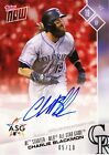 Charlie Blackmon Autograph All-Star Game ASG 2017 Topps Now AS-7D AUTO 05 10