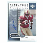 2005 Upper Deck Foundations AUTO Foundations Silver #SFFG Frank Gore Auto NM-MT