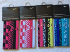 NIKE PRINTED HEADBANDS ASSORTED COLORS STYLES NEW