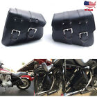 Motorcycle Saddle Bags PU Leather Luggage Bags For Harley Sportster XL 883 1200