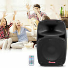12 2 Way Powered Active Speaker 800W Pro USB SD Card Bluetooth Remote Control