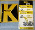 Vtg KELLEY Binder w/Farm Dealer Manual/Brochure/Spec Farm Tractor/Loader J0675