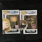 FUNKO Pop Vinyl Westworld Dolores and Young Ford NYCC SDCC Convention Exclusives