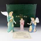 Lenox China Renaissance ANGELS in ADORATION Nativity Figurines MIB 1991