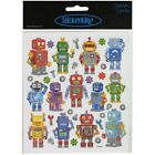 Tattoo King Robot Fun Stickers Multicolor