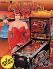 Riverboat Gambler Pinball Original Flyers Mint Condition Fifty Pieces
