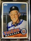 2004 Topps All-Time Fan Favorites Sparky Anderson Autograph
