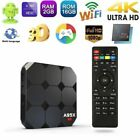 A95X R2 Android 7.1 Smart TV BOX S905W Quad Core 2GB+16GB WiFi 4K 3D Player