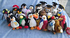 W-F-L Ty Beanie 1 Stoffvogel 5 1/2-7 7/8in Penguin Owl Vulture Eagle Bird