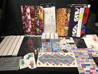 Lot Scrapbooking Supplies Borders Stickers Decals Patterns Baby Sports Travel